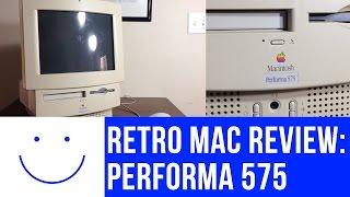 Retro Mac Review: Macintosh Performa 575