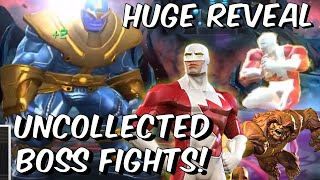 Sasquatch & Guardian Uncollected Boss Fights & HUGE REVEAL!! - Marvel Contest of Champions