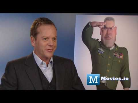 Kiefer Sutherland talks Monsters V Aliens, 24 & Ireland