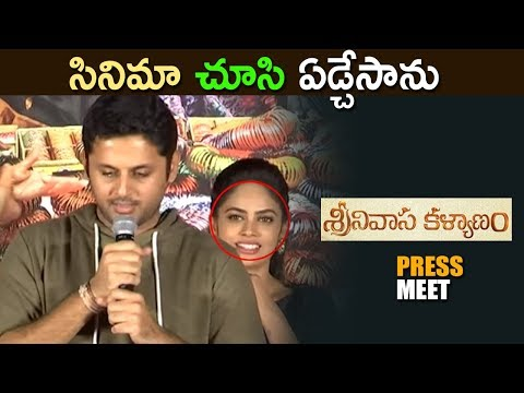 Srinivasa Kalyanam pre release event 2018 - Latest Telugu Movie 2018 - Nithin ,Rashi Khanna