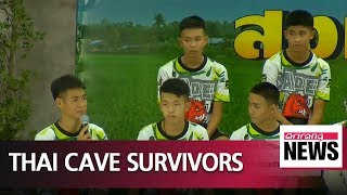Thai youth football team recount their ordeal after rescue