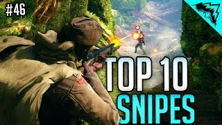 TOP 10 INCREDIBLE SNIPER SHOTS - Battlefield 1 Top 10 Multiplayer Gameplay Snipes (Bonus Plays 46)