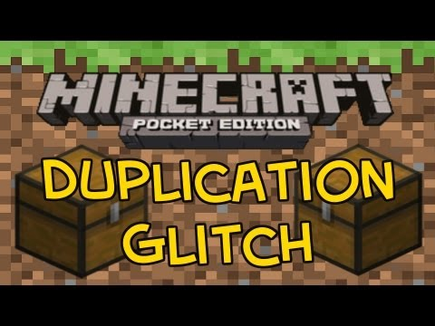 Minecraft PE Duplication Glitch 0.4.0