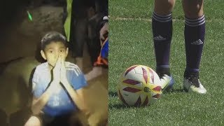 Thai Soccer Team Once Trapped in Cave Plays Friendly Match in Argentina