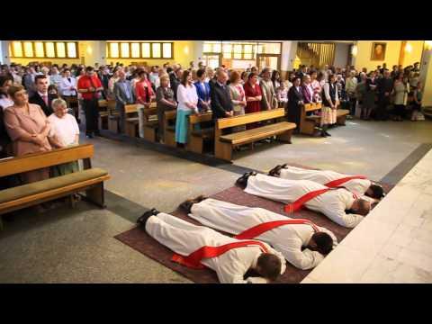 Święcenia kapłańskie na Poczekajce 2012 - Bracia Kapucyni