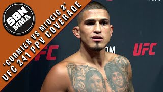 UFC 241 | Open Workouts | Anthony Pettis: Nate Diaz 'Was Talking Mad S--t'