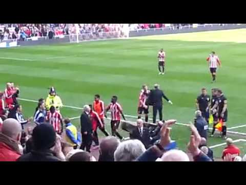 Sunderland AFC Paolo Di Canio, creating Electricity at the Stadium of Light Sunderand 1 - Everton 0