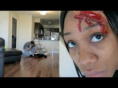 DEAD GIRLFRIEND PRANK!!!
