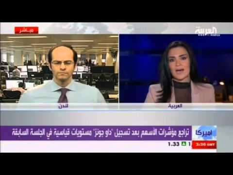 أشرف العايدي على قناة العربية --  12مارس 2013 Chart
