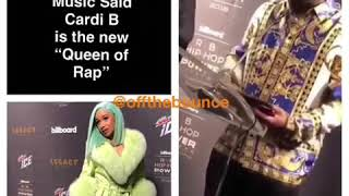 "Pee the CEO of Quality Control Music said Cardi is the new ""Queen of Rap"""