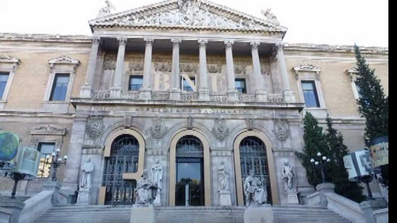 Biblioteca Nacional Espana Madrid Biblioteca Nacional Madrid