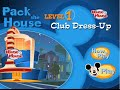Disney's House of Mouse - Pack The House Level 1 - Mickey Mouse Club Dress-Up Game