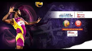 Sri Lanka v Hong Kong – 1st Asian Men's Volleyball Challenge Cup