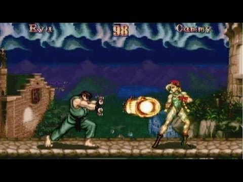 CGRundertow - SUPER STREET FIGHTER II for Super Nintendo Video Game Review