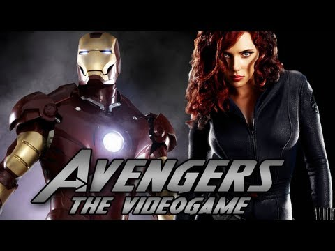 THE AVENGERS THE VIDEO GAME EXCLUSIVE TRAILER! (PARODY)