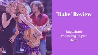 """Download Lagu """"Babe"""" - Sugarland Featuring Taylor Swift Review Gratis STAFABAND"""