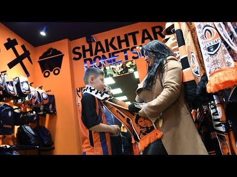 Открытие нового Fan Shop ФК «Шахтер» в Харькове