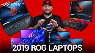Gaming Laptops for Gamers, Creators, and Power Users - ROG Spring 2019 Collection