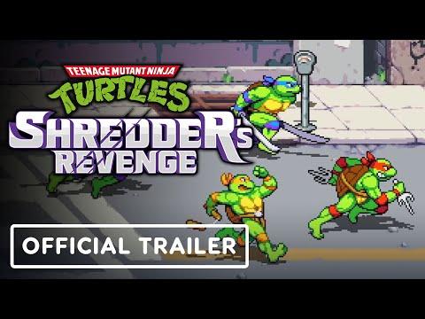 Teenage Mutant Ninja Turtles Shredder's Revenge - Official Gameplay Trailer   Indie World Showcase