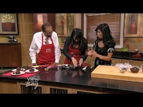 Ani Phyo&#8217;s Raw Food Desserts on The View from the Bay, Nov 13th, 2009