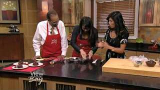 Ani Phyo's Raw Food Desserts on The View from the Bay, Nov 13th, 2009