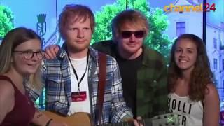 Download Lagu Fake Ed Sheeran fools fans in Berlin Gratis STAFABAND