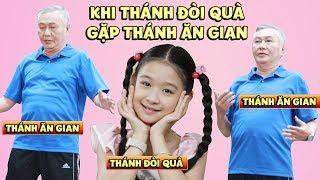 Gia đình là số 1 phần 2 ep cut 95: Được ông ngoại dùng tiểu xảo để lấy quà, Lam Chi mừng phát khóc