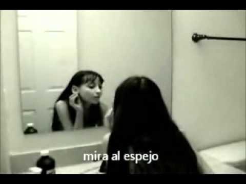 Terror el fantasma del espejo demonio 1 youtube for El rincon del espejo