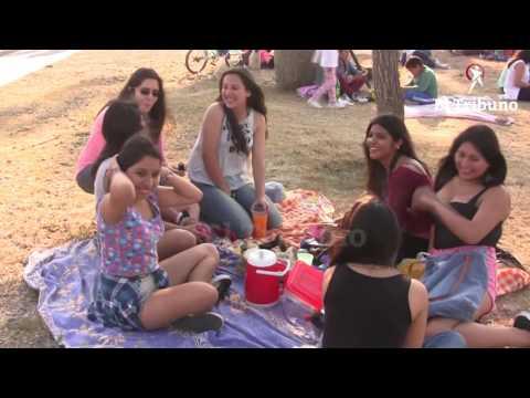 En familia y con amigos, se festejó la primavera en el Bicentenario
