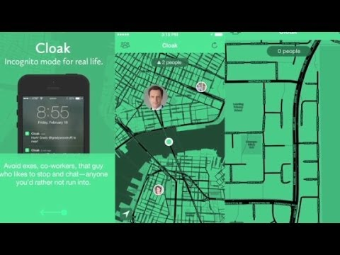 Cloak app helps you avoid your friends