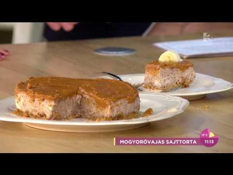 Csonka András imádta a mogyoróvajas sajttortát - tv2.hu/fem3cafe