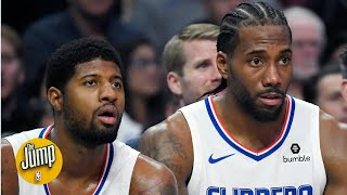 Kawhi Leonard and Paul George didn't like how Carmelo Anthony was treated | The Jump