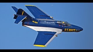 Giant RC Blue Angels F9F Cougar (Skymaster) - Best in the West Jet Rally 2017