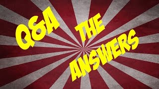 Q&A #1: Answering Your Questions