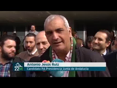 """Antonio Jesús Ruiz """"el Partido Andalucista va a volver al Parlamento de Andalucía"""