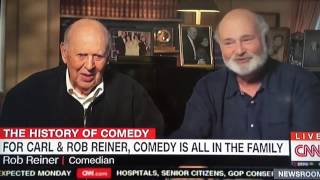 Carl and Rob Reiner on Trump (CNN, 3/9/17)