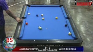 2019 Texas State BCAPL Tournament - Men's Open Singles - Jason Dutchover Vs Justin Espinosa