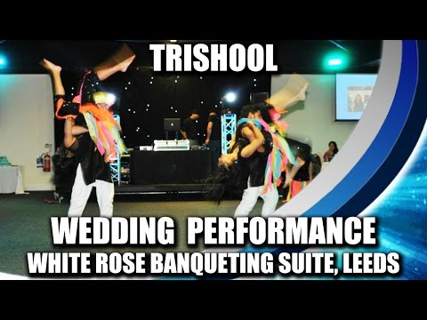 Trishool performing at a Wedding Reception at White Rose Banqueting...