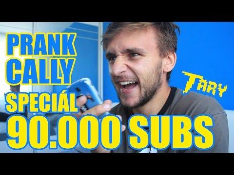 PRANK CALLY TERAPEUTŮM   SPECIÁL ZA 90.000 SUBS