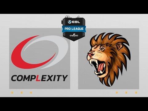 CS:GO - CompLexity Vs. Selfless [Cache] Map 1 - ESL Pro League Season 4 - NA Matchday 18