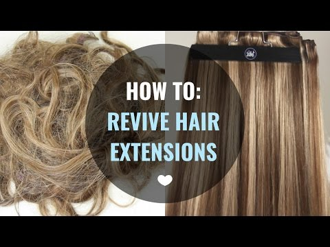 How to Revive Hair Extensions - ZALA HAIR EXTENSIONS