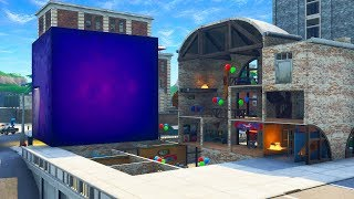 the CUBE is DESTROYING Tilted Towers (NOT CLICKBAIT)