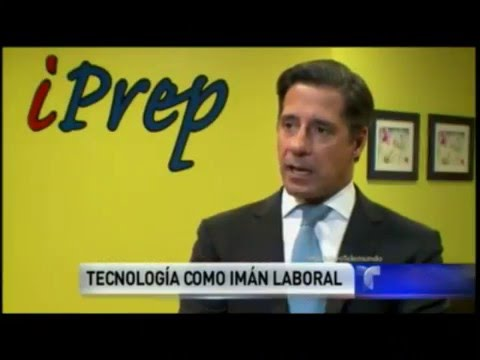 iPrep and technology as a labor tool reported by Telemundo