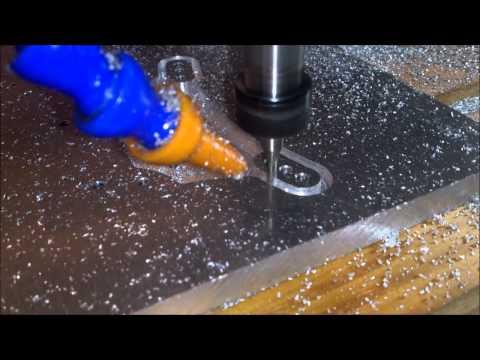 CNC 3040 machining 6082 aluminium