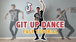 How To Do The Git Up Dance Tik Tok (EASY tutorial) | Step by Step Dance Tutorial