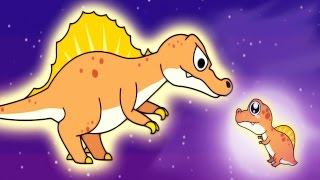 Kids Learn About Dinosaurs With Baby Panda Jurassic World Dinosaurs | BabyBus Kids Game Video!