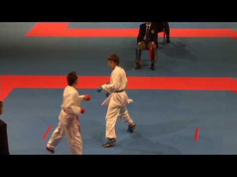 2009 WKF Jr Worlds -21 Men -68 Kg Aka Spain vs Ao Russia