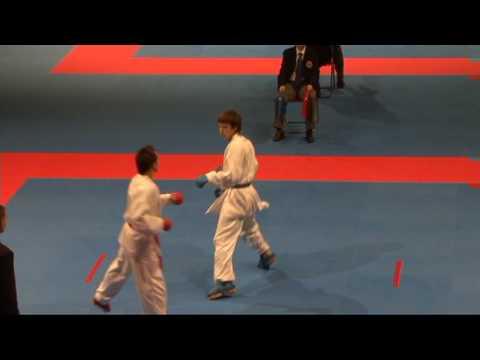 2009 WKF Jr Worlds -21 Men -68 Kg Aka Spain vs Ao Russia