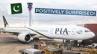 TRIPREPORT | PIA - Pakistan International (ECONOMY) | Karachi - London Heathrow | Boeing 777-300ER