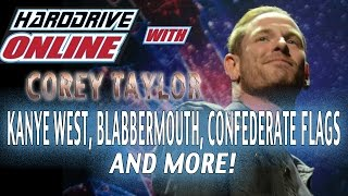 Corey Taylor destroys CONFEDERATE FLAGS and more